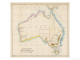 Map Showing the Location of the Goldfields So Presumably Made Fairly Soon