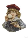 Cut-Out Sailor Boy Drinks Cadbury's Cocoa