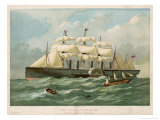 The Steamship of Brunel and Scott Russell in Full Steam