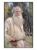 Leo Tolstoy Russian Novelist in Old Age