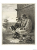 Blind Fiddler and His Dog