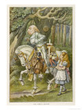 White Knight the White Knight Giclée premium par John Tenniel
