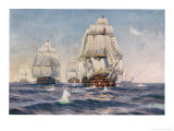 Nelson&#39;s Flagship at the Battle of Trafalgar 21 October 1805