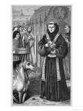 Saint Antonio di Padova to Convince a Heretic Commands a Mule to Adore the Sacrament