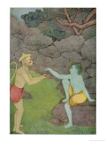 Rama Put His Trust in the Ape Hanuman (Son of the Wind God) to Find His Abducted Wife Sita