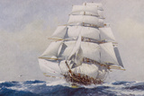 Clipper Under Full Sail