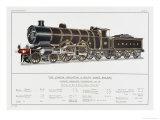 London Brighton and South Coast Railway Loco No 38