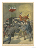 King Umberto Assassinated at Monza by the Anarchist Bresci