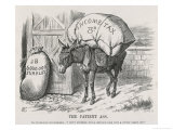 The British Taxpayer  The Patient Donkey  Groans Beneath the Weight of Income Tax
