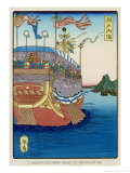 The Pleasure-Barge of a Daimyo of the Togugawa Era on the Inland Sea