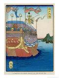 The Pleasure-Barge of a Daimyo of the Togugawa Era on the Inland Sea