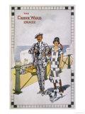 Dashing Couple Display the Growing Crossword Craze