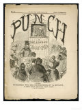 The Cover of the First Issue of Punch or the London Charivari
