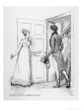 &quot;I Have Not an Instant to Lose&quot; Says Elizabeth Bennet to Mr Darcy