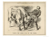 William Gladstone Taking the (Irish) Bull by the Horns