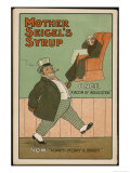 """Once  a Victim of Indigestion: Now  Always Merry and Bright!""  Thanks to Mother Seigel's Syrup"