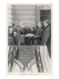William Mckinley Takes the Oath of Office as 25th President