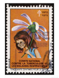French Postage Stamp Sold in Aid of the Fight Against Tuberculosis