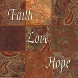 Words to Live By  Faith  Love  Hope