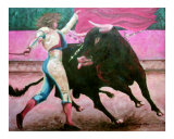 Lady Bull Fighter