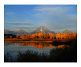 Autumn at Ox Bow Bend