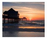 Clearwater Beach Sunset  Florida