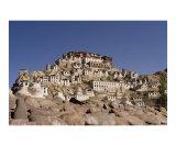 Scenic Buddhist Thiksey monastery in Ladakh