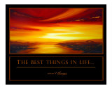 The Best Things in Life aren't things!