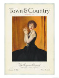 Town &amp; Country  January 1st  1923