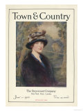 Town &amp; Country  January 1st  1920