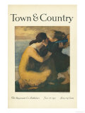 Town &amp; Country  January 1st  1917