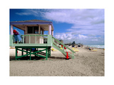 Lifeguard Station  Miami Beach  Florida