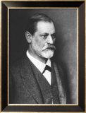 Portrait of Sigmund Freud circa 1900 Reproduction encadrée