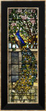 """Detail of Right Side of """"Twilight""""  a Leaded and Plated Glass Window  1897"""