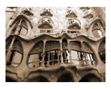 Antoni Gaudi  Casa Batllo  Barcelona  Spain