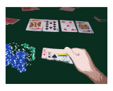 Texas Hold'em 4 Chaulky Kings