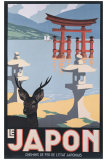Le Japon Giclée par P. Erwin Brown