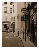 Rue de Bourbon la Chateau