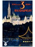 Budapest Giclée par Polya Tibor