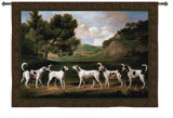 Foxhounds in a Landscape