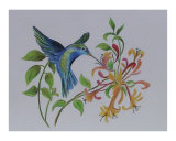 Blue HummingBird 01