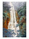 Waterfall at Wu-Fong in Summer