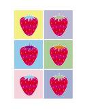 Six Ice Strawberries