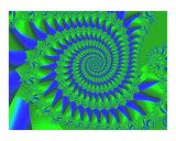 Blue Green Satin