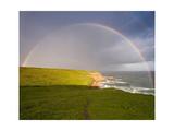 Rainbow over Chimney Rock  Point Reyes  CA