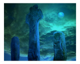 Celtic Cross by Moonlight  Ireland
