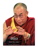 Dalai Lama - Bliss - If not Now, When Papier Photo par Jason Gursky