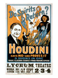 Do Spirits Return Houdini Says No