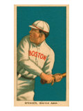 Tris Speaker  1909 White Borders (T206) Baseball Card Series