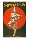The Tin Man from The Wizard of Oz Reproduction d'art